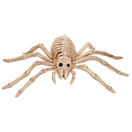 plastic horror UK - Skeleton Spider Plastic Animal Skeleton Bones for Horror Halloween Home Decoration Accessories New