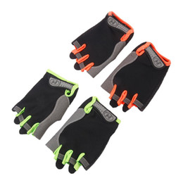Bicycle Gloves Mountain NZ - bicycle Cycling Bike Half Finger Breathable MTB Mountain Road Bicycle Gloves Men Women Unisex Sports Cycling Equipment L-XL