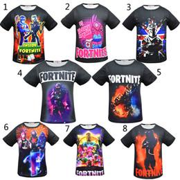 c0b824974595a 8 Style Boys Girls Fortnite T-shirts New Children Game fortnite Cartoon  Short sleeve t shirt Baby kids clothing for 6~14years B001