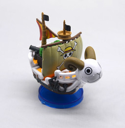 $enCountryForm.capitalKeyWord NZ - new ONE PIECE Thousand Sunny Pirate Ship PVC Action Figure One Piece Going Merry Ship Model Mini Doll Figuras Kids Toys