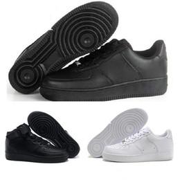 b4b8a0d3 2018 Force 1 Af1 Мужчины с высоким качеством Мужская обувь для летучих  мышей Спортивная обувь для скейтбординга Обувь High Low Cut White Black  Тренировочные ...