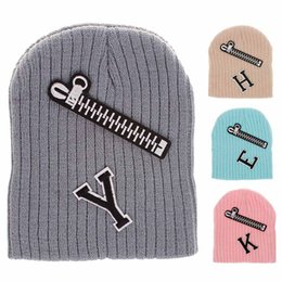 02007d60db2 Hat cap style boys online shopping - 8 styles New baby cap cute embroidery  zipper letter