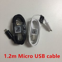 $enCountryForm.capitalKeyWord Australia - 10pcs lot,Original 1.2m Micro USB Fast Charger Cable Data Sync Charging cable for Samsung Galaxy S5 S4 S6 S7 edge Note 4 5
