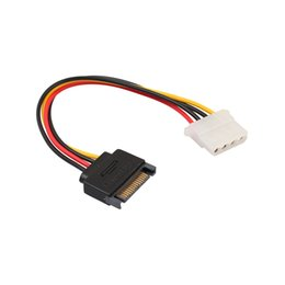 Female sata converter online shopping - SATA PIN Male Power suitable for Molex IDE PIN Female Drive Adaptor Line gadget for Computer PC Converter Laptop Cable
