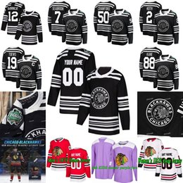 CanCer jersey online shopping - 2019 Winter Classic Chicago Blackhawks  Cancer Jonathan Toews Patrick Kane Alex b79c4f963