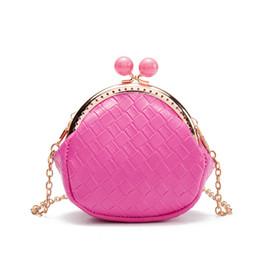 c40c0c2e2e68 2018 Kids Mini Bags Cute Princess Messenger Bag for Baby Girls Chain  Satchel Crossbody Bags oblique zero purse handbags gifts