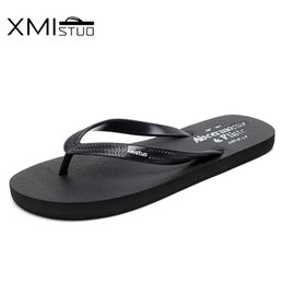 $enCountryForm.capitalKeyWord Canada - XMISTUO Summer trend couple flip flops men and women Korean version of the pin flat non-slip simple beach sandals and slippers