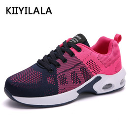 06095ea3c52d KIIYILALA Flying Fabfic Women Running Shoes Breathable Max Air Women  Sneakers Outdoor Sport Shoes Mix Color Zapatillas Mujer