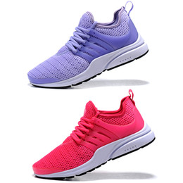 5ceb8d43a597 Presto GS Low Wmn Hyper Pink Women Running Shoes,Prestos Yellow Purple Red  Black White Girls Trainers Designer Sneakers Chaussures Zapatos