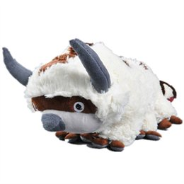 China Big Size Anime Kawaii the Last Airbender Appa & Tiger Plush Toys Soft Juguetes Stuffed Animal Brinquedos cheap big size toys suppliers
