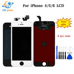 Lcd Display For Iphone 4s Australia - LCD for iphone 4 4s 5 5c 5s 6 6 plus 6s 6s plus LCD Display Touch Digitizer Complete Screen Assembly Replacement