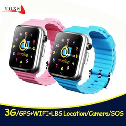 $enCountryForm.capitalKeyWord Australia - New 3G Wifi GPS LBS Tracker Children Smart Watch Touch Screen Security Fitness Monitor Smartwatch Camera SOS For iOS Android V7W