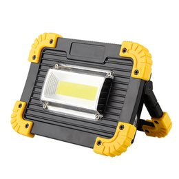 Led buLbs for fLoodLights online shopping - 30W COB LED Camping Lantern Multifunctional Rechargeable Portable Floodlight Powerbank LED Lamp Bulbs For Hiking Tent Light