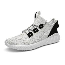 Nuovo arrivo di alta qualità da uomo in maglia sport scarpe da corsa maglia  morbida suola leggera traspirante scarpe da ginnastica per il tempo libero  ... ea9ac323e07