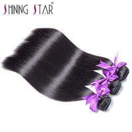 "Discount 7a grade virgin hair ombre - Brazilian virgin hair straight 3pcs lot Grade 7A,cheap brazilian hair weave bundles 8""-30"" remy human hair 3 b"