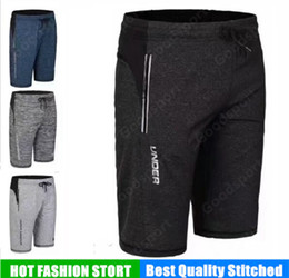 Fitness gyms online shopping - NEW UA GYM pants clothes Running Style Man SHORTS trousers Trendy Hip Hop Sport Fashion under fitness keep fit Parkour Run