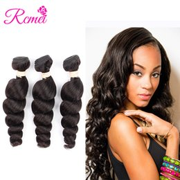 $enCountryForm.capitalKeyWord Australia - Rcmei Hair Product Hot Selling Peruvian Loose Wave Hair Bundles 8-28 Inch Natural Color 100% Human Hair 3 Bundles Free Shipping