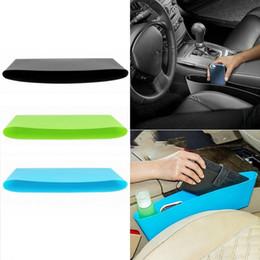 Auto Car Seat Gap Pocket Catcher Organizer Leak Proof Storage Box New Organizador De Asiento Trasero Black Color