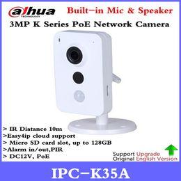 $enCountryForm.capitalKeyWord UK - Newest Dahua IPC-K35A 3MP K Series PoE Network Camera DC12V PoE IP Camera IR Diatance 10m Support SD Card and Onvif Security cam