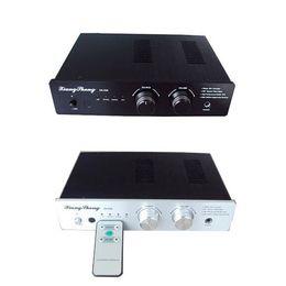Tube audio amplifier online shopping - Xiangsheng DA A Hifi AK4118 AK4495 Digital Audio Decode tube Headphone Amplifiers Remote Brend New
