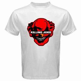 $enCountryForm.capitalKeyWord NZ - 2018 Latest Fashion New KILLING JOKE Punk Rock Band Logo Men's White Black T-Shirt Size S to 3XL Plus Size Casual Clothing