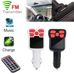 Mp3 Player Green Bluetooth NZ - 2018 newest Handsfree top selling Bluetooth MP3 Player Wireless FM Transmitter Modulator Car Kit USB SD MMC LCD Remote