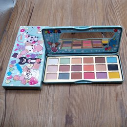 $enCountryForm.capitalKeyWord NZ - Make up Eye chocolate 18 color cartoon eye shadow palette Bon Bons Eyeshadow Palette +gift Free DHL Shipping