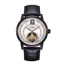 Men's Watches Mce Brand Classic Golden Skeleton Mechanical Watch Men Stainless Steel Strap Top Brand Luxury For Vip Drop Shipping Wholesale Highly Polished Mechanical Watches