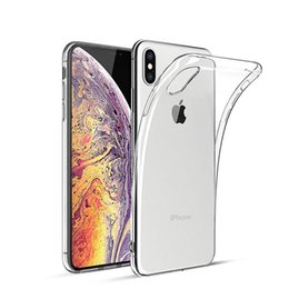 Chinese  For IphoneX XS XS Max Iphone Xr case silicon S8 plus case cover clear back transparent soft iphone8 note8 Note 9 case manufacturers