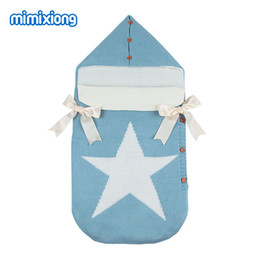 $enCountryForm.capitalKeyWord UK - Autumn Envelopes for Newborns Five Star Knitted Sleeping Bags Winter Button Up Infant Baby Swaddle Wrap Sleep Sacks Thermal