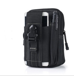 tactical phone case wallet NZ - Hot Sale Universal Outdoor Tactical Holster Military Molle Hip Waist Belt Bag Wallet Pouch Purse Phone Case with Zipper for iPhone