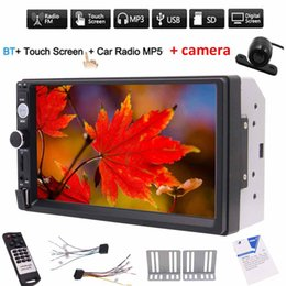 $enCountryForm.capitalKeyWord Australia - Rearview camera+Double din 2din car MP5 player 7'' digital Capacitive touchscreen in dash car PC system headunit no DVD cd player FM Radio