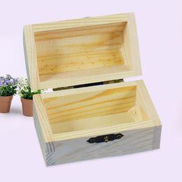Caixa de memória de armazenamento de recipiente de caixa de madeira vintage STOOG caixa de memória personalizada