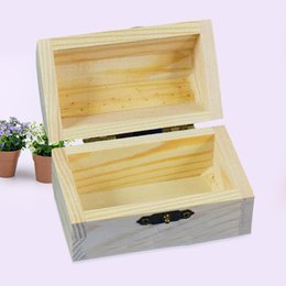 Chinese  STOOG Vintage Wooden Box Container Storage Jewellery Memory Chest Personalized manufacturers