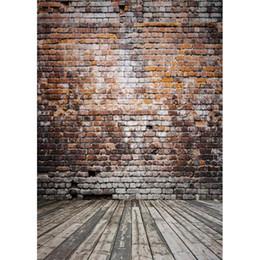 vinyl backdrops bricks 2018 - 150x220cm Thin vinyl cloth photography backdrops computer Printing photo backdrops brick wall backgrounds for photo stud