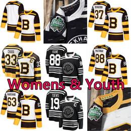 Womens Lady Youth Kids 2019 Зимняя классика Чикаго Блэкхокс Тоьюс Трикотажные изделия Patrick Kane Pastrnak Bergeron Marchand Chara