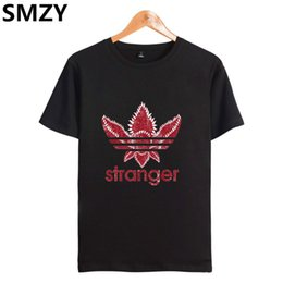 Pop Tees Australia - SMZY Stranger Things T-shirt Men Coon Short Sleeve Pop United States  Tshirt Men Coon Fashion Funny Mens Tee Shirts