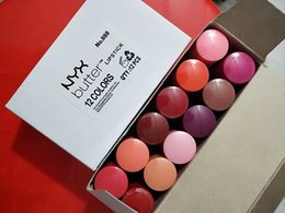 Lipstick Nyx Long Lasting Matte NZ - NYX Matte Lipstick 24 Hours Long Lasting Lip Sticks Branded 12 Colors Makeup Branded Pucker Up for the Holiday Cream