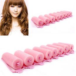 Curling Hair Rollers Australia - 6Pcs Fashion Magic Sponge Foam Hair Curlers Curling Styling Rollers Twist Tool Latest Product 7LU5