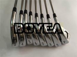 BOYEA Golf Clubs A3 718 Set de hierro 718A3 Golf Hierros forjados Palos de golf Eje de acero 3-9Pw con tapa