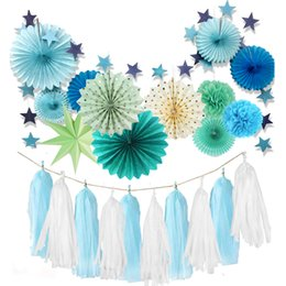 $enCountryForm.capitalKeyWord NZ - 14pieces set Green and Blue Party Decorations Summer Theme Party Decorations For Wedding Birthday Festival Party Decoration