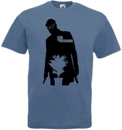 Movie Steel Canada - Leon The Professional v27 T shirt steel blue movie poster all sizes S-5XL