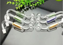 Double Filter Bongs NZ - 2018 Double filtering pot Wholesale bongs Oil Burner Pipes Water Pipes Glass Pipe Oil Rigs Smoking, Free Shipping ghh