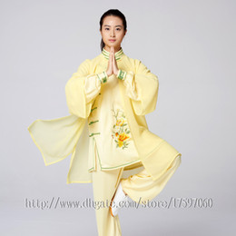 Boy Chinese Suit Australia - Chinese Tai chi clothes taiji boxing suit Kungfu uniform performance garment Qigong outfit for men women children boy girl kids adults