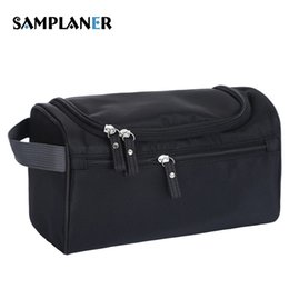 Travelling Business Men Women Wash Bag Female Cosmetic Bag Makeup Case Hook  Up Organizer Admission Bags Waterproof Toiletry Kits 6e3423fd0e