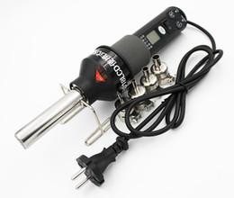 Venta al por mayor de 8018LCD 110V / 220V 450W Pantalla LCD Temperatura ajustable Pistola de aire caliente Estación de soldadura para desoldar con 9 boquillas de aire caliente