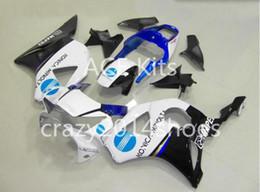 $enCountryForm.capitalKeyWord Australia - Motorcycle Fairing kit for HONDA CBR900RR 954 02 03 CBR 900RR 2002 2003 CBR900 ABS hot White Blue Fairings set+3gifts H2