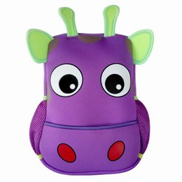 Chinese  Toddler Kids backpacks Kindergarten cow ,butterfly,elephant small shoulder bag for baby girl and boy school rucksack manufacturers