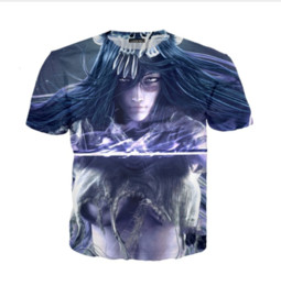 Estate più nuova moda Womens / Mens Anime BLEACH Kurosaki Ichigo divertente 3D creativo casual Hip Hop T Shirt DS0147