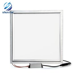 Touch drivers online shopping - 24W LED panel light x300 square lampada high bright led indoor ceiling lamp white warm white with waterproof led driver